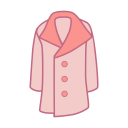 Long coat Icon