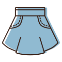 Denim skirt Icon