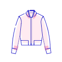 Loose coat Icon