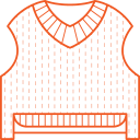 Knitted vest Icon