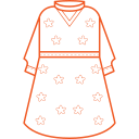 Printed Dress Icon
