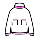 Down jacket Icon