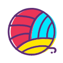 Clothing ball Icon