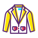 Clothing men's coat Icon