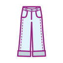 Girl's heart clothing - Wide Leg Pants Icon