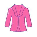 Loading clothing women's coat Icon
