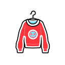 Round neck sweater Icon