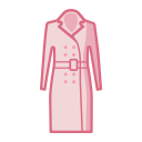 Women's overcoat Icon