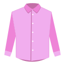 Garment icon solid color shirt Icon