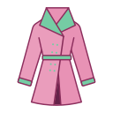 Trench coat Icon