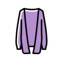 Cardigan sweater Icon