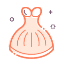 Full dress Icon