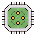 Abstract technology Icon