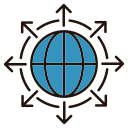 Global direction Icon