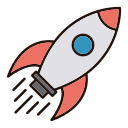 Rocket Vector Icons Free Download In Svg Png Format