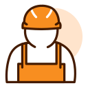 Office Labor Insurance Icon