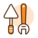 Spanner shovel Icon