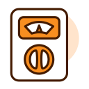 Universal electric meter Icon