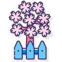 cherry-blossom-garden Icon