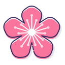 peach-flower Icon