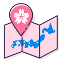 sakura-map Icon