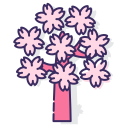 sakura-tree Icon