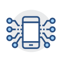 Mobile electronic Icon