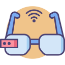 Smart Glasses Icon