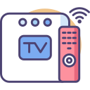 Smart TV Box Icon