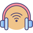 Wireless Headset Icon