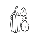 Vegetable pepper Icon