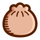 Steamed stuffed bun Icon