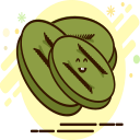 Dried dried monkey Icon