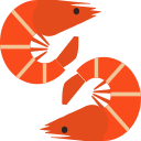 Red shrimp Icon