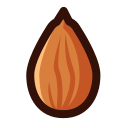 Gourmet almond Icon