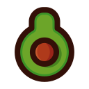 Gourmet avocado Icon