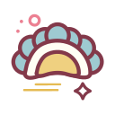 Steamed dumpling Icon