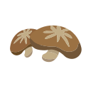 Dried mushrooms Icon