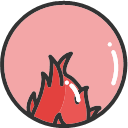 Red dragon fruit -01 Icon