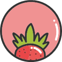 Strawberry -01 Icon
