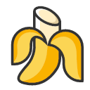 Bananas - sweet and fresh Icon