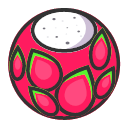 Dragon fruit - sweet and fresh Icon