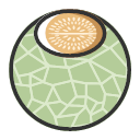 Hami melon - sweet and fresh Icon