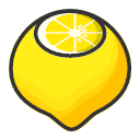 Lemon - sweet and fresh Icon
