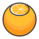 Oranges - sweet and fresh Icon