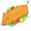 Roasted Suckling Pig Icon