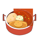 Steamed Abalone with Shark's Fin and Fish Maw in Broth Icon