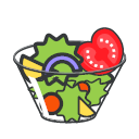 Vegetable Salad Icon