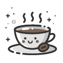 MBE style coffee Icon
