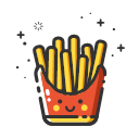 MBE style French fries Icon